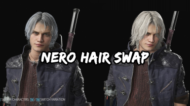 (FIXED) Nero with Dantes hair (LONG AND SHORT VERSION)