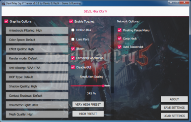 COOP Trainer for Devil May Cry 5 at Devil May Cry 5 Nexus - Mods and