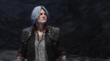 White Hair For Dante EX