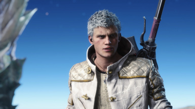 White Hair For Nero EX (Optional Brown Hair For Default)