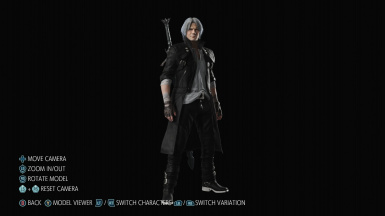 Black and White Dante