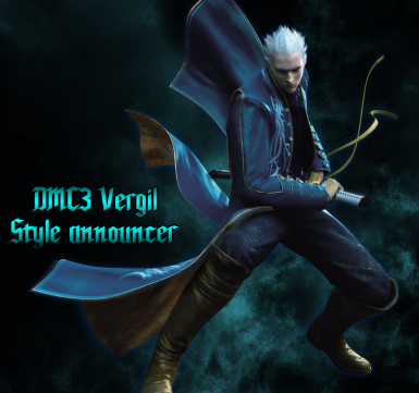 DMC3 Vergil Style Announcer