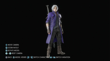 Dante Purple and Yellow Recolor