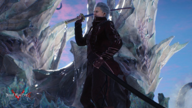 Red Vergil VFX and Costume