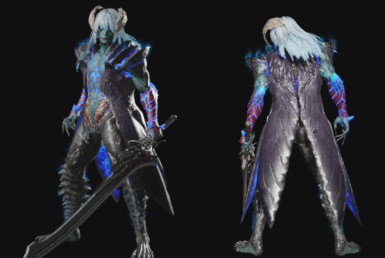 Nero DT - wing coat