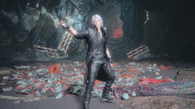 Dante All Black Outfit