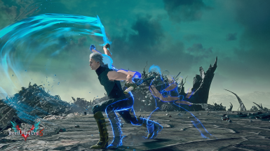 Vergil Boss afterimage and new VFX