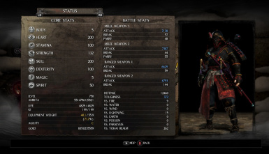 Nioh_Complete Game Save