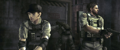 RE5 GE - Jill BSAA Uniform