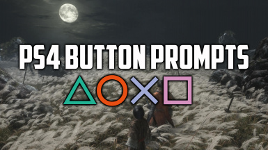 PS4 Button Prompts
