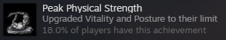 Peak Physical Strength achievment