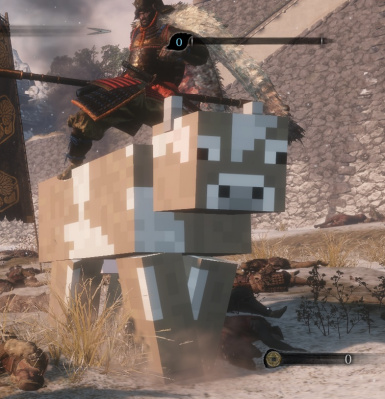 Gyobu's horse minecraft cow replacement