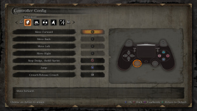 Official DualShock 4 (PS4) Button Prompts