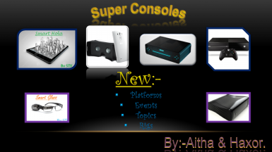 New Super Consoles Mod By Aitha.