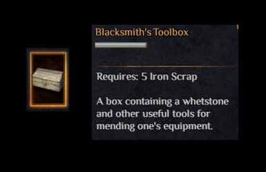 Blacksmith's Toolbox (Repair Items Anywhere)