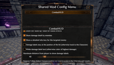 Shared Mod Config Menu
