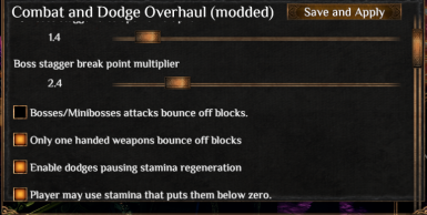 Combat and Dodge Overhaul - with poise edition