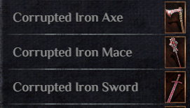 Corrupted Weapon Pack