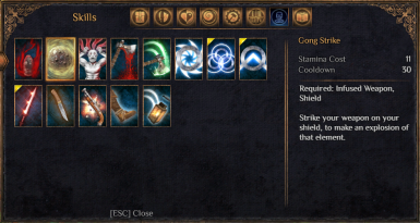 Reworked Skills and Spells