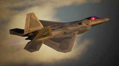 F-22A -VR Mobius 1 Ver.ACE04-