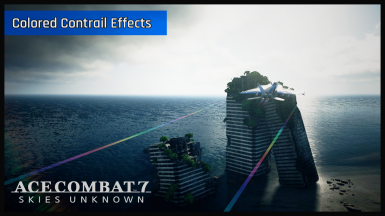 Colored Contrails Effects Mod