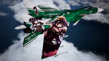 Su-37 Sakuya Shirase. A very popular high school girl who has many female fans. She has a cool personality and is naturally talented in many ways. Do you have what it takes to bring out even more potential from her?