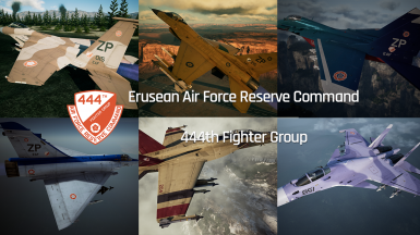 The Erusean Campaign 444 Fighter Group