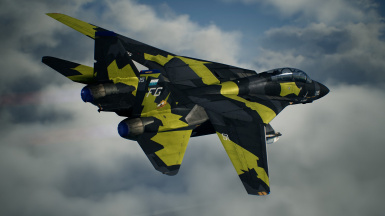 F-14D -INF Yellow-