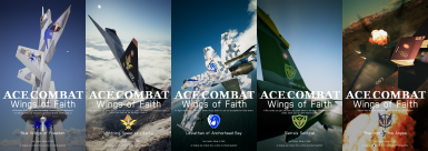 Aces of the Perfanesian War (Ace Combat-Wings of Faith Series)