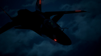 Clean version with custom formation lights at night 1