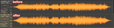 Enhanced Sounds - Example Waveform