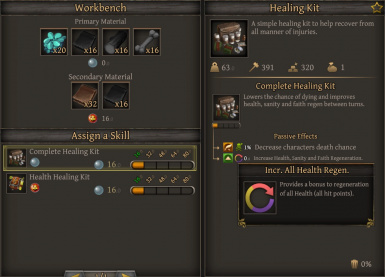 Healing Kits of Thea