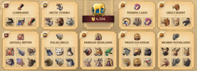 Complete zoo DLC set collection