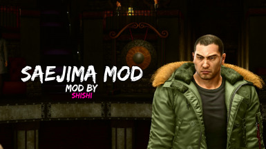 Saejima Mod (With Optional File)
