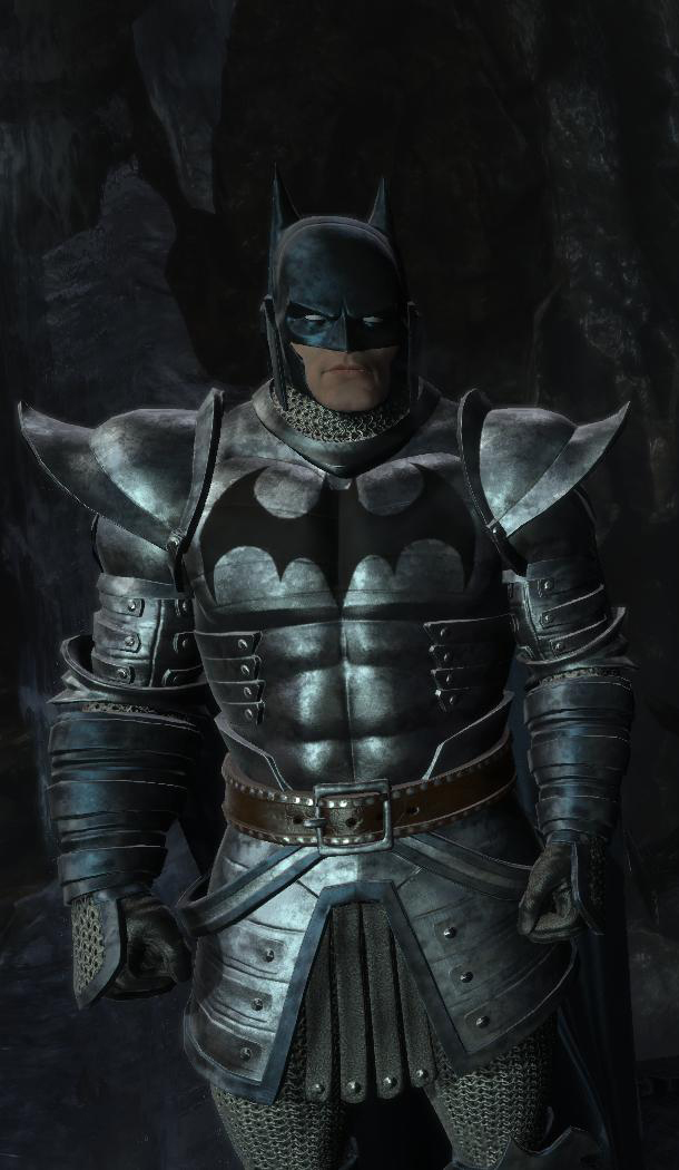Dark Knight Medieval Crusader Suit At Batman Arkham