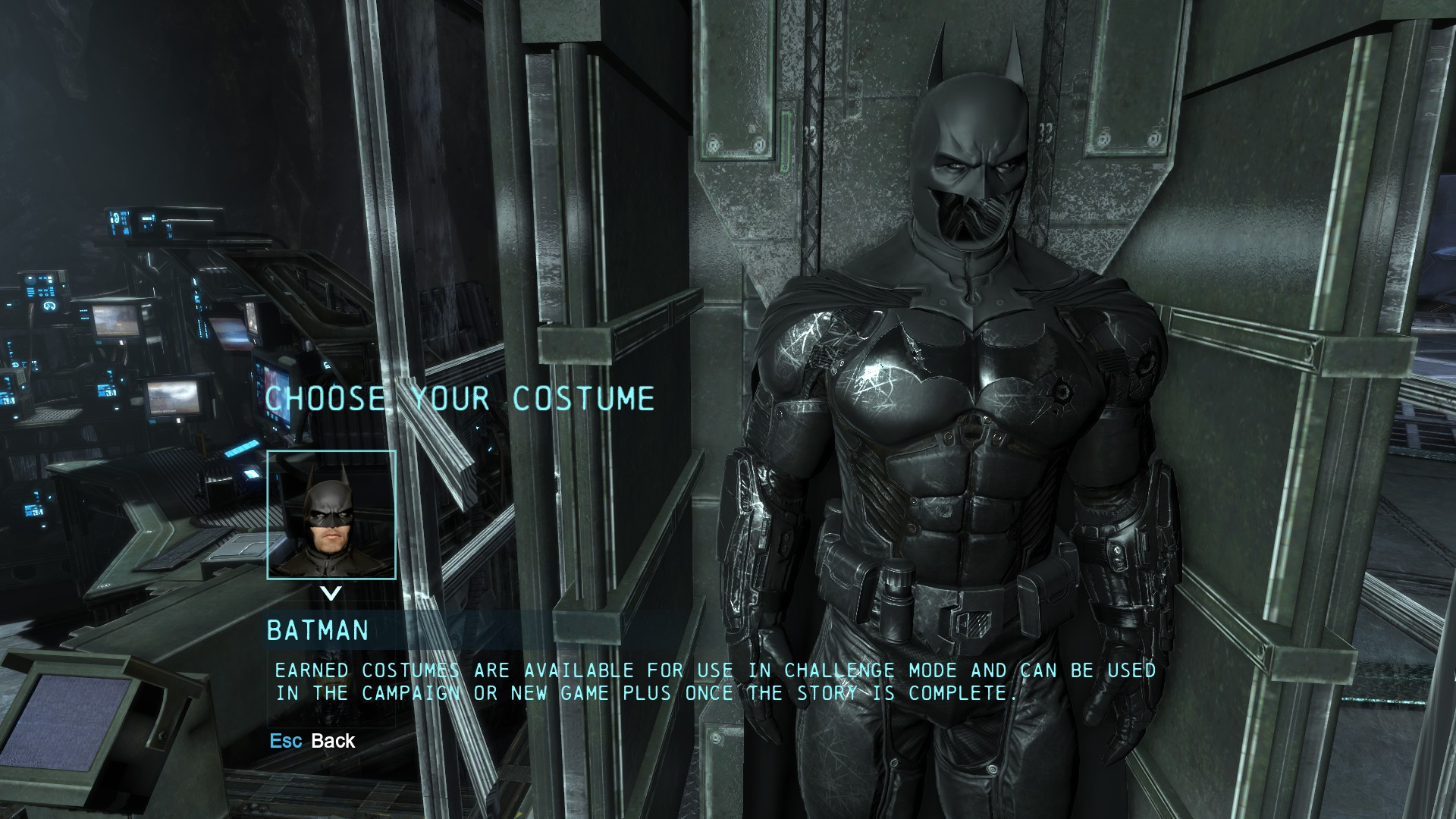 Darker Main Batsuit At Batman Arkham Origins Nexus