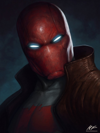 Red Hood For Injustice Deathstroke