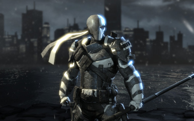 White and Grey Deathstroke