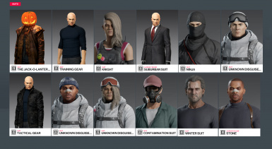 Suit Replacement Mod (And Cut Disguises)