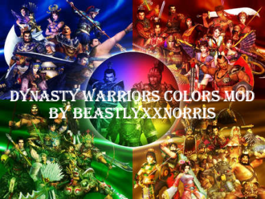 Dynasty Warriors Colors by BEASTLYxxNORRIS