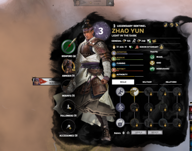 Increase Zhao Yun attribues
