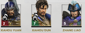 Dynasty warriors Officers