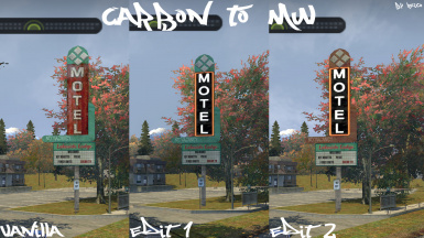 (Carbon to MW) Motel Neon Sign