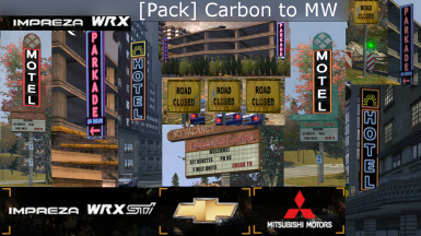 (Texture Pack) Carbon to MW