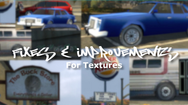 Fixes and Improvements for Textures