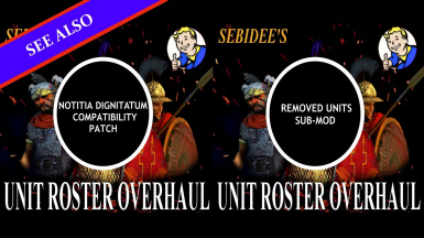Chinese Localisation of Sebidee's Unit Roster Overhaul