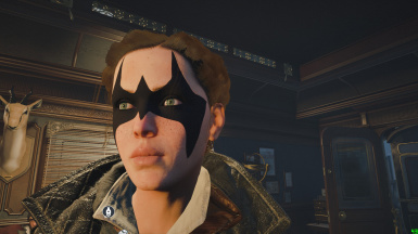 Nightwing Mask on Evie Frye