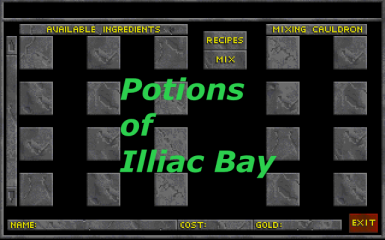 Potions of Illiac Bay
