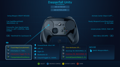 Steam Controller Config - Full Parity with Keyboard and Mouse