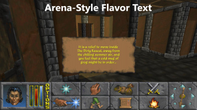 Arena-Style Flavor Text